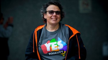 Yes campaigner Wil Strack says she'd 'like to marry my partner'.