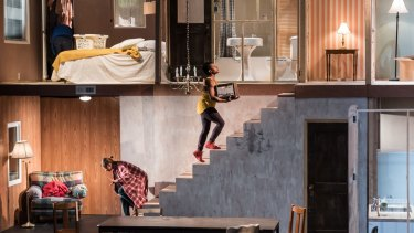 Geoff Sobelle's dialogue-free HOME is a kids' show for grown-ups.