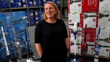 Kathy Cocovski has promised to breathe new life into the Godfreys chain.