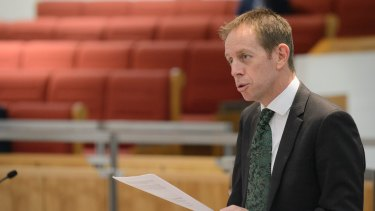 Shane Rattenbury, the ACT energy minister, is pushing for changes to the NEG.