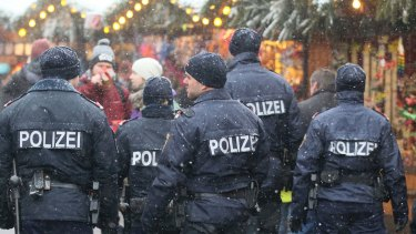 Police patrols have increased at the Christmas market in front of the city hall in Vienna.