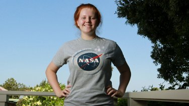 Sarah Mullins, a student at Queenwood, went to NASA.