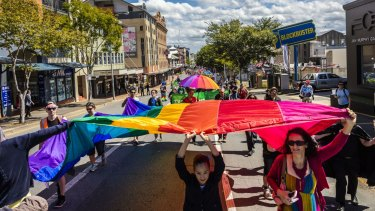 Queensland's LGBTIQ community has been campaigning for the change.