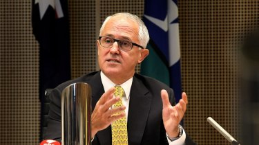 Prime Minister Malcolm Turnbull has emphasised innovation.