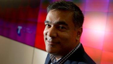 Telstra chief technology officer Vish Nandlall.