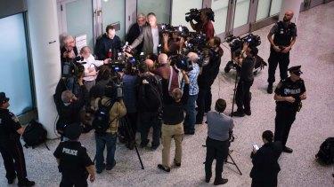 Joshua Boyle arrives in Toronto on Friday.