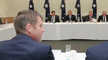 NSW Premier Mike Baird during the COAG meeting in Sydney last week.