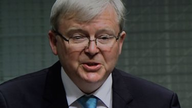 """They wouldn't have launched their case if they thought our measures would be ineffective"": Kevin Rudd."