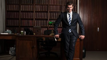 """NSW Premier Mike Baird says """"all views deserve respect""""."""