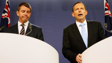 Premier Mike Baird and Prime Minister Tony Abbott