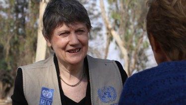 UN Development Program head Helen Clark.