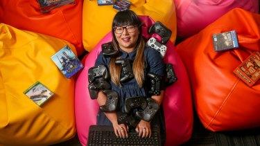 Game developer Lisy Kane.