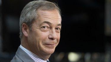 Former UK Independence Party leader Nigel Farage.