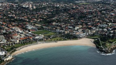 High demand: Coogee Beach and Sydney's CBD.