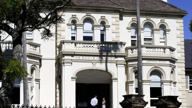 Scots College is reviewing its procedures for the storage of trial exam papers.