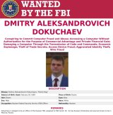The Wanted poster for Dmitry Dokuchayev who Konstantin Kozlovsky says directed him to break into the US DNC computers during the US election campaign