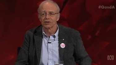 Philosopher Peter Singer said donations would be better made to organisations preventing blindness in a developing country than to training guide dogs.