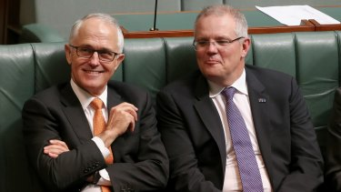 It's all right, Ma: Malcolm Turnbull and Scott Morrison are resisting calls for negative gearing reform.