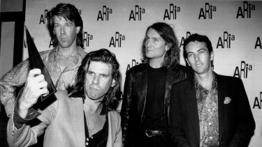 The Cruel Sea at the 1994 ARIA Awards (Photo by Julian Andrews).