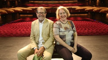 Neil Armfield and Rachel Healy, who worked together at Belvoir, are looking forward to collaborating again.