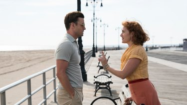 Mickey (Justin Timberlake) and Ginny (Kate Winslet) star in <i>Wonder Wheel</I>.