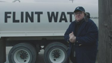 A still from  Fahrenheit 11/9, by Michael Moore.