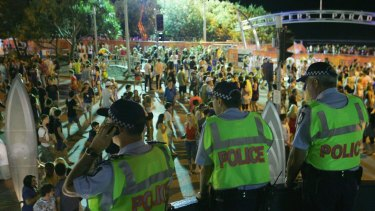 Schoolies have been warned to stay away from drugs as they celebrate on the Gold Coast.