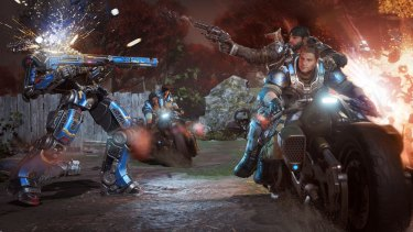 <i>Gears of War 4</i> is an amazing-looking game.