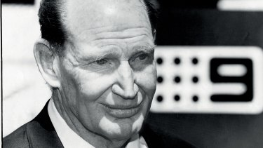Kerry Packer fought hard for Nine to get cricket broadcast rights in the 1970s.