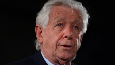 Former Football Federation of Australia chairman Frank Lowy.
