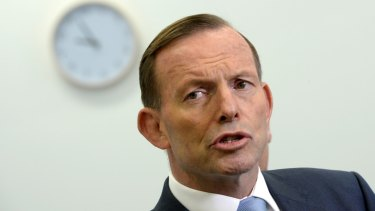Prime Minister Tony Abbott: The problem, not the answer.