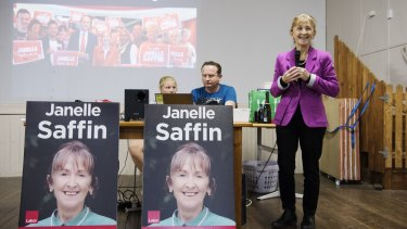 Janelle Saffin, Labor candidate in the seat of Page.