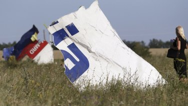 MH17 wreckage: 298 people, including 39 Australians, were killed in the tragedy.