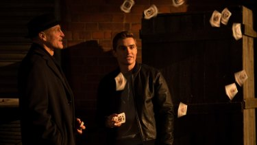Tricks on the cards: Woody Harrelson (left) and Dave Franco return for the second instalment of <i>Now You See Me.</i>