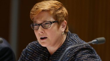 Defence Minister Senator Marise Payne has been unwell following an abdominal infection.