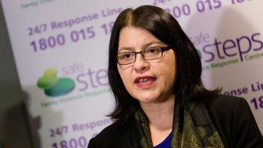 Families Minister Jenny Mikakos.