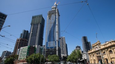 The developer of the 72-level Vision apartments was a donor to Lord Mayor Robert Doyle's election campaign.