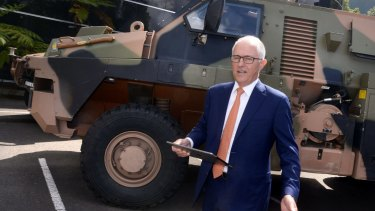 Prime Minister Malcolm Turnbull visits Thales Defence Exports.