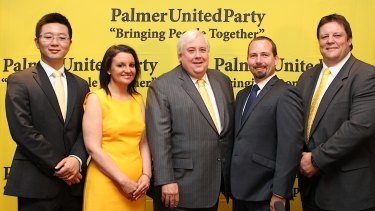 Clive Palmer once wielded power in Federal Parliament.