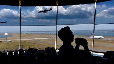 Air traffic controllers at Sydney Airport are feeling the pressure.
