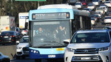 The government is privatising bus services in Sydney's inner west run by State Transit.