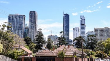 Apartments, townhouses and terraces will soon outnumber stand-alone homes in Sydney.