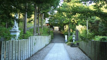 One of the 88 temples on the 1200km Shikoku pilgrimage trail.