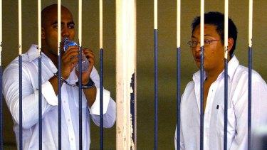 ON DEATH ROW: Andrew Chan and Myuran Sukumaran.