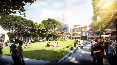 Renders of the proposed development.