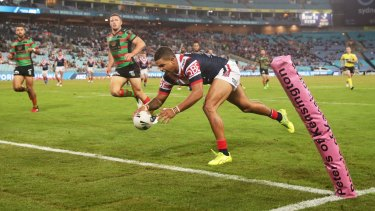 Latrell Mitchell insists he has not been thinking about representative football.