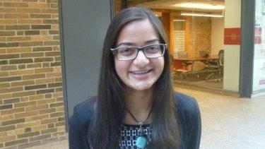Maya Burhanpurkar created a microbiology lab at 10.