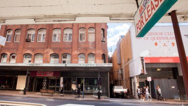 The buildings are being allowed to fall into a state of disrepair.