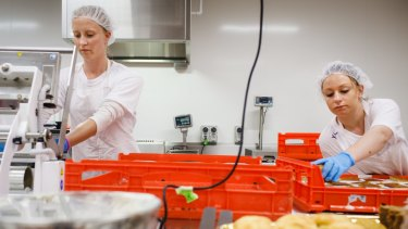 It's hoped in the coming year the bakery will provide up to 15 women with work.