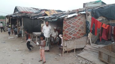 There are about 40,000 Rohingya Muslim refugees and asylum seekers in India.